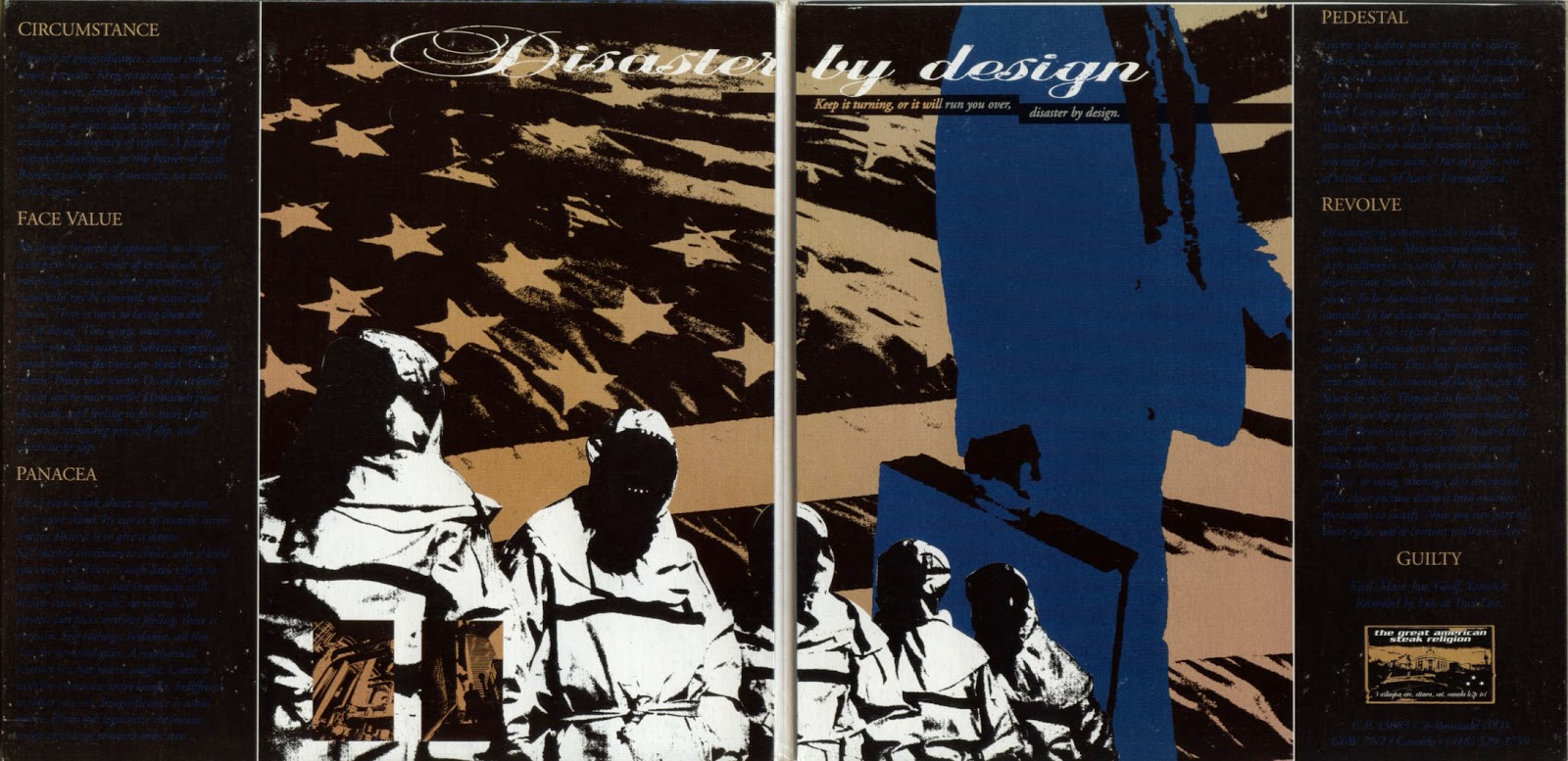 "Uranus – Disaster By Design 2x7"""
