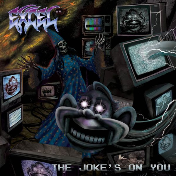 "Excel – The Jokes On You 12"" (Purple Vinyl)"