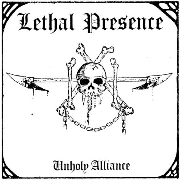 Lethal Presence ‎– Unholy Alliance 12""