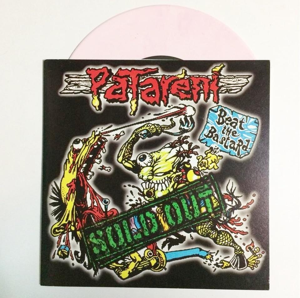 """Patareni / Burek Death Squat 7"""" split"""