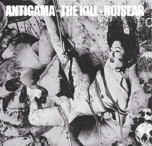 """Antigama / The Kill / Noisear  3x7"""" box"""