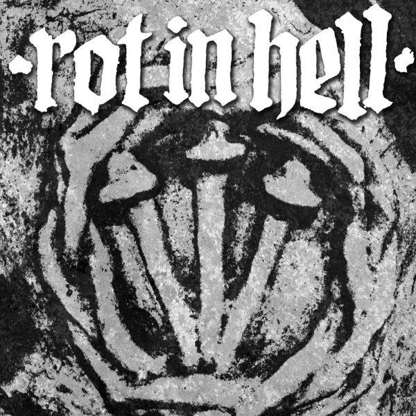"""Rot In Hell / Psywarfare 12"""" split (White Vinyl)"""