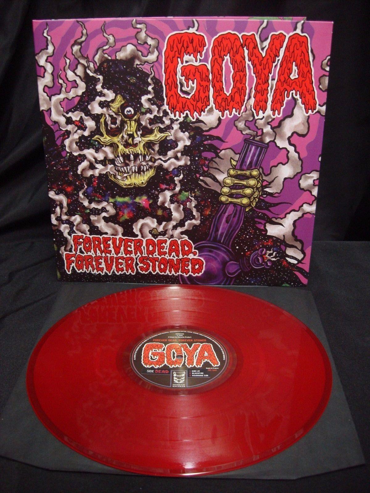 """Goya – Forever Dead, Forever Stoned 12"""" (Red Vinyl)"""