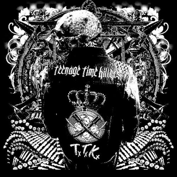"Teenage Time Killers – Greatest Hits Vol. 1 2x12"" (Grey / Black Split Vinyl)"