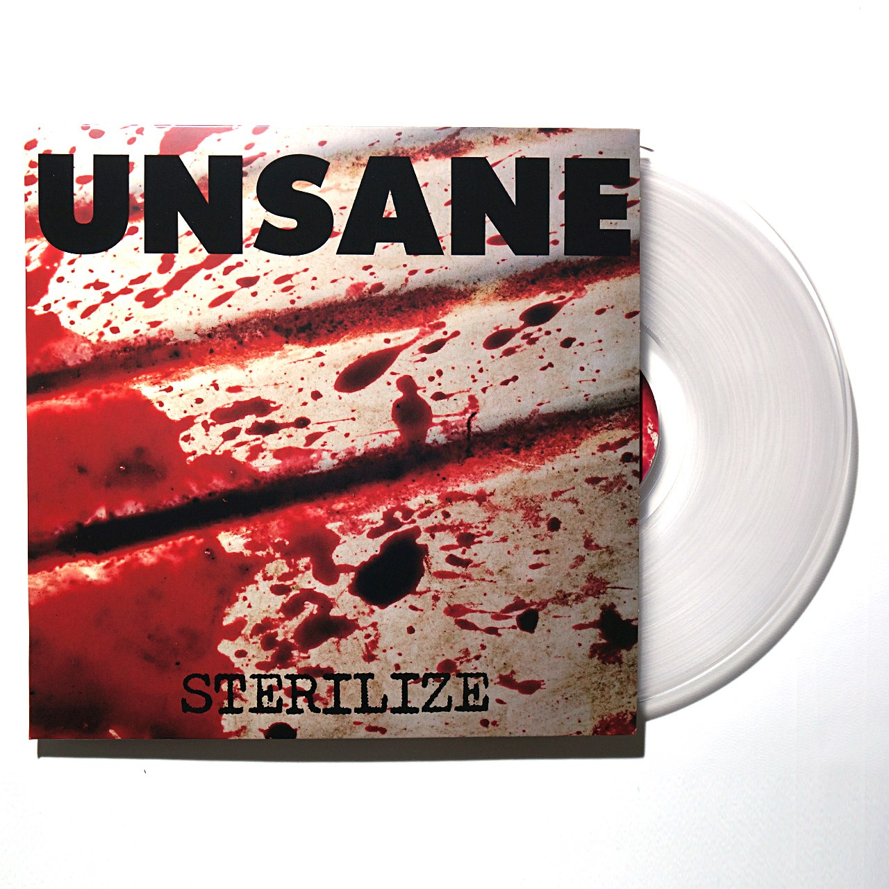 "Unsane ‎– Sterilize 12"" (Clear Vinyl)"